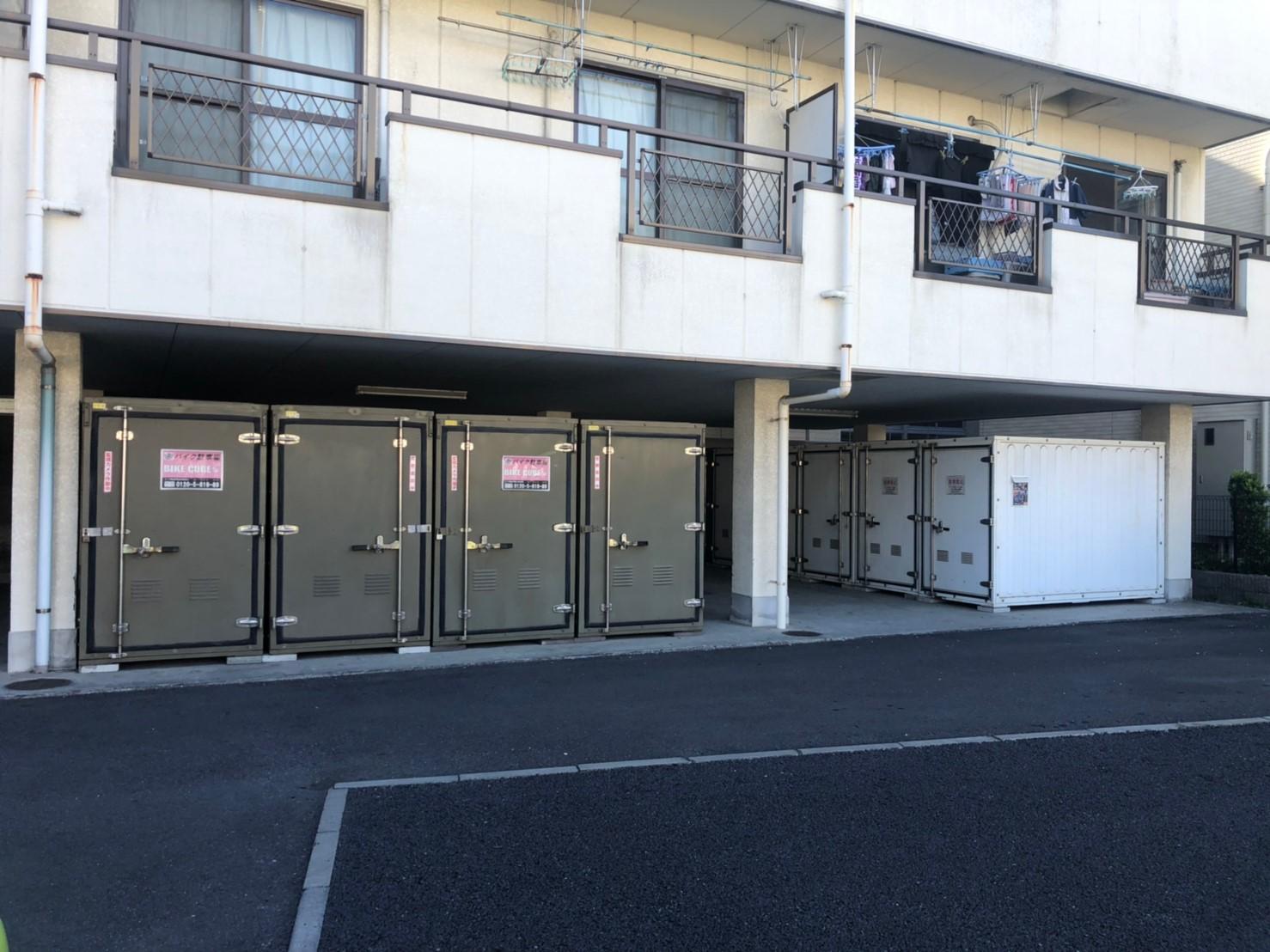 バイクストレージ江戸川中央の物件外観