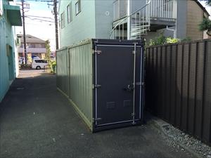 バイクストレージ西東京の物件外観