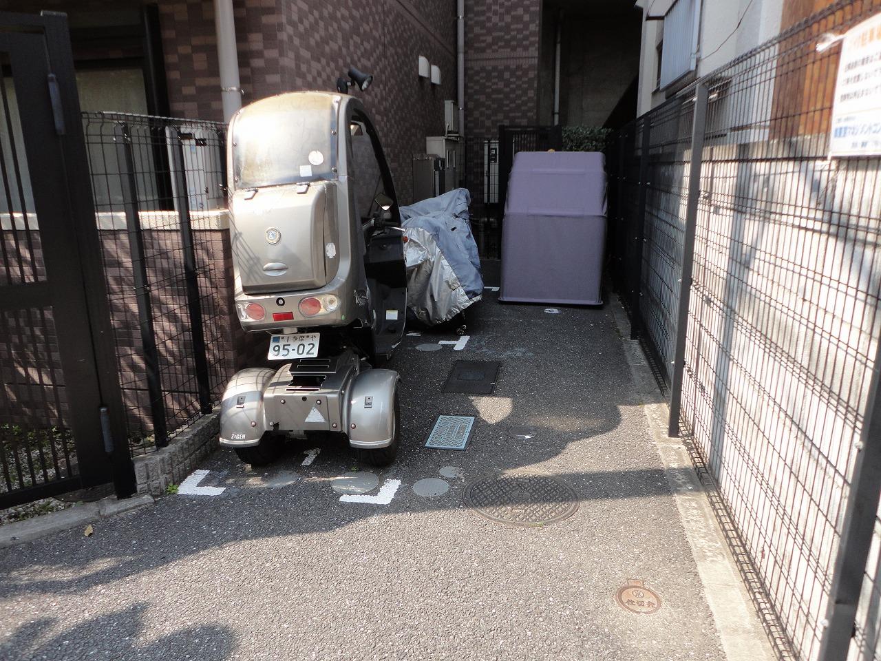 tmcバイク駐車場世田谷区砧の物件外観