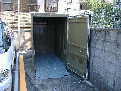 バイクパーク茨木市下穂積Ⅱの物件外観