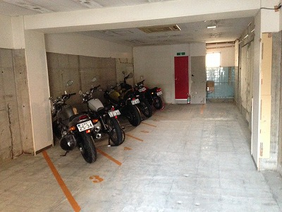 バイクストレージ上石神井の物件外観