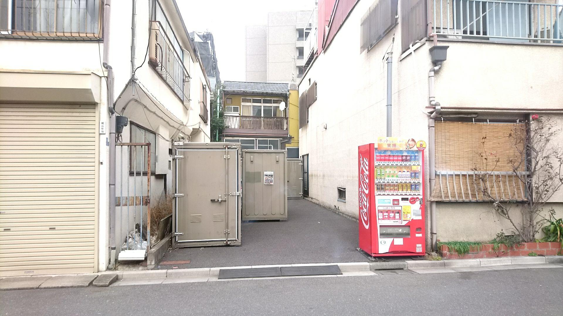 バイクストレージ台東区清川の物件外観