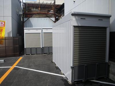 バイクストレージ墨田区東駒形の物件外観