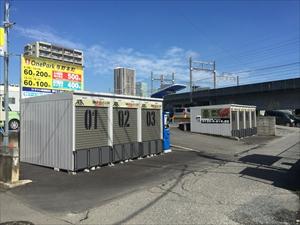バイクストレージ与野本町の物件外観