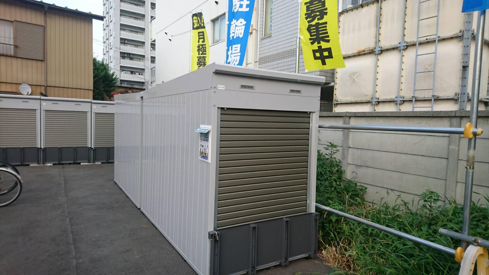 バイクストレージ桶川駅東口の物件外観