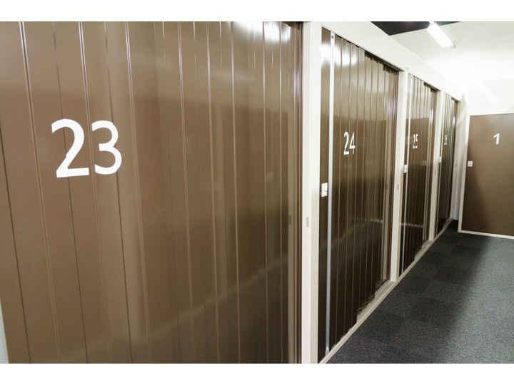 2重セキュリティで安心・安全 押入れ産業 PiO四谷三丁目店