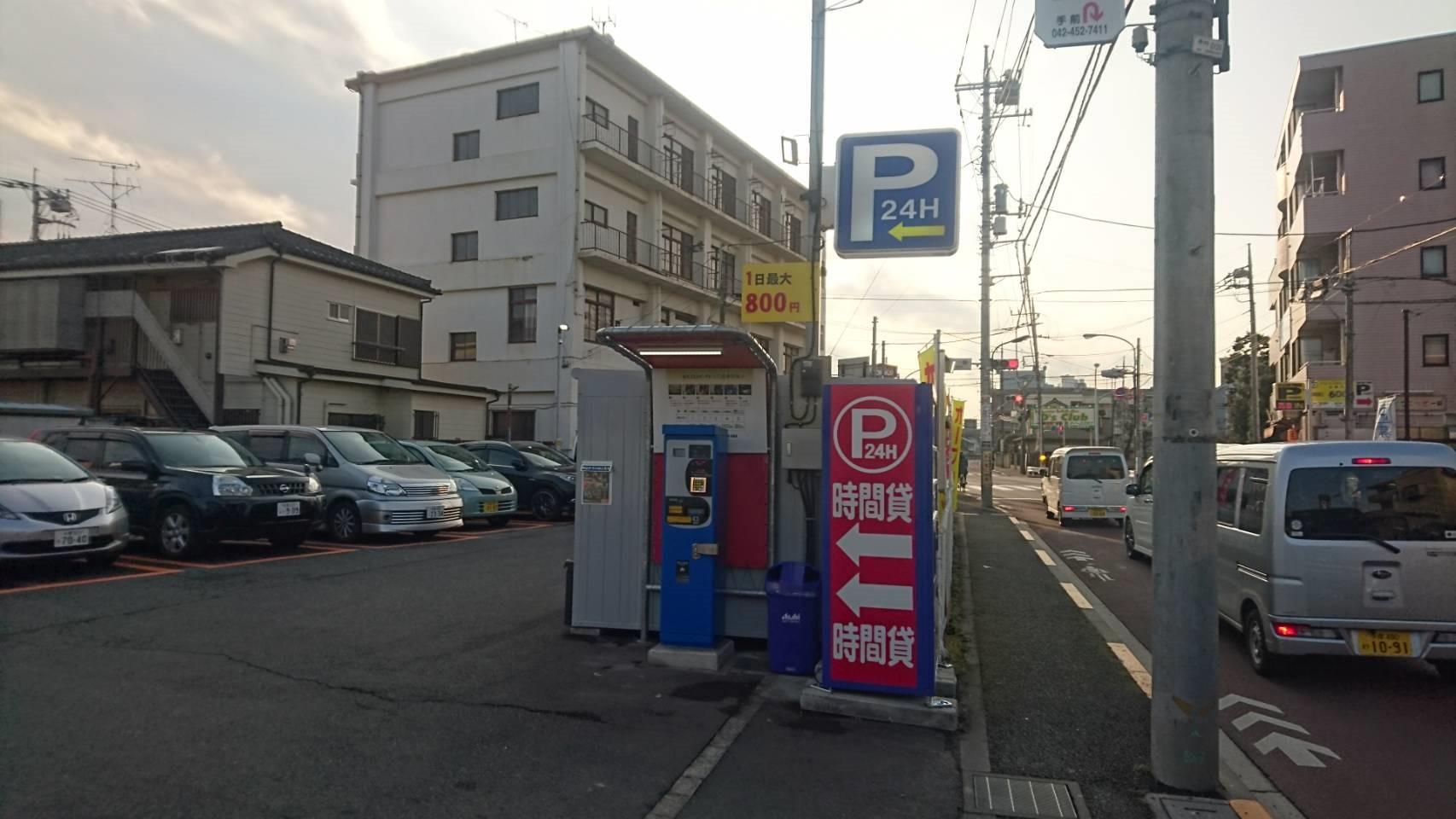 バイクストレージ田無町6丁目の物件外観