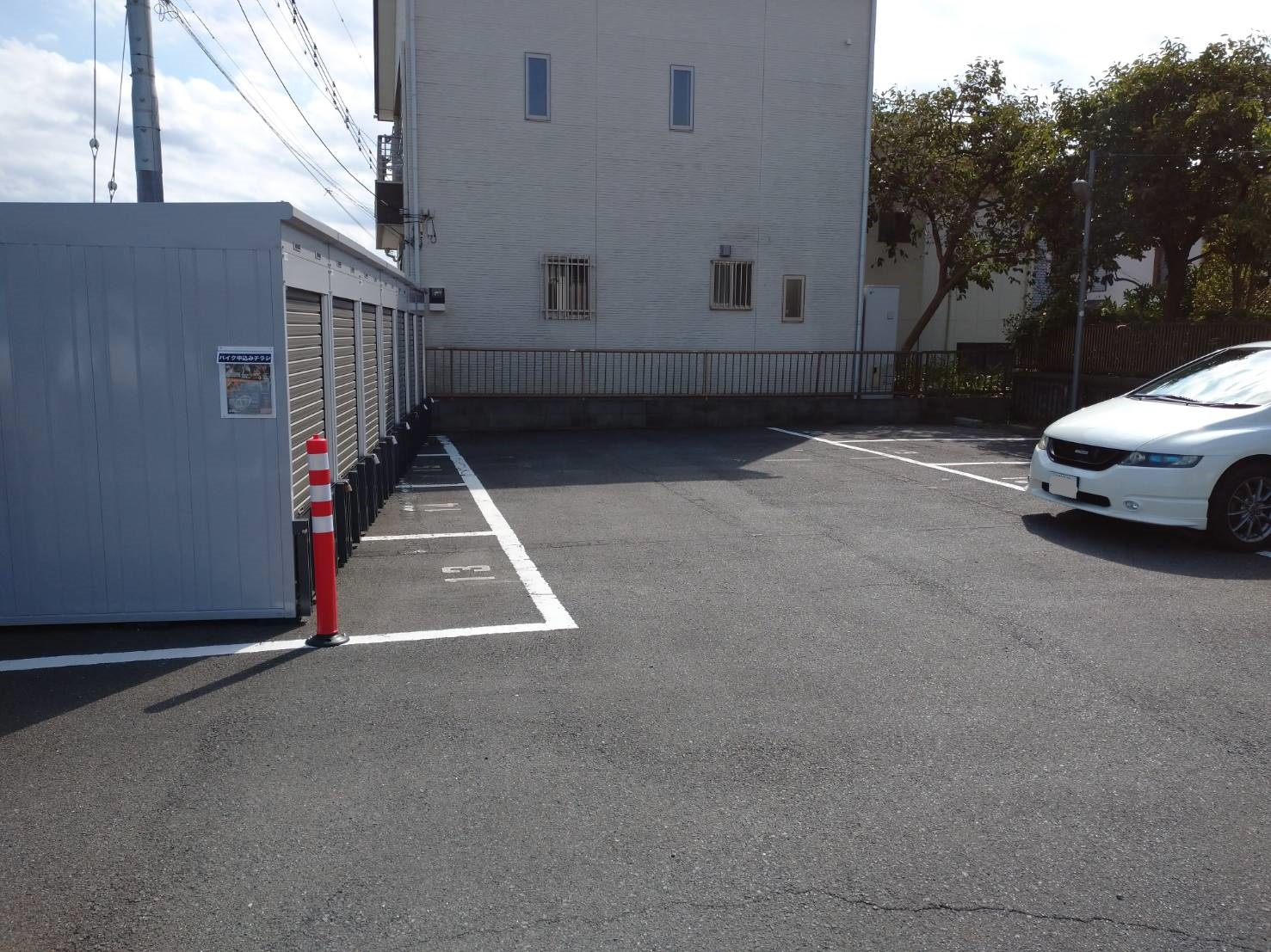 バイクストレージ三郷市早稲田の物件外観