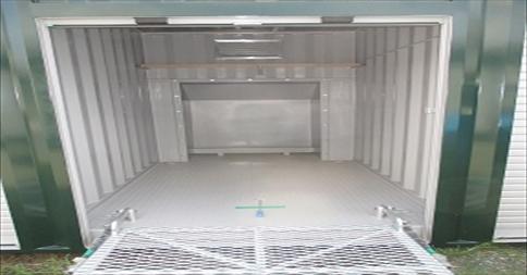ユアスペース相模原大野台-バイク駐車場の物件外観