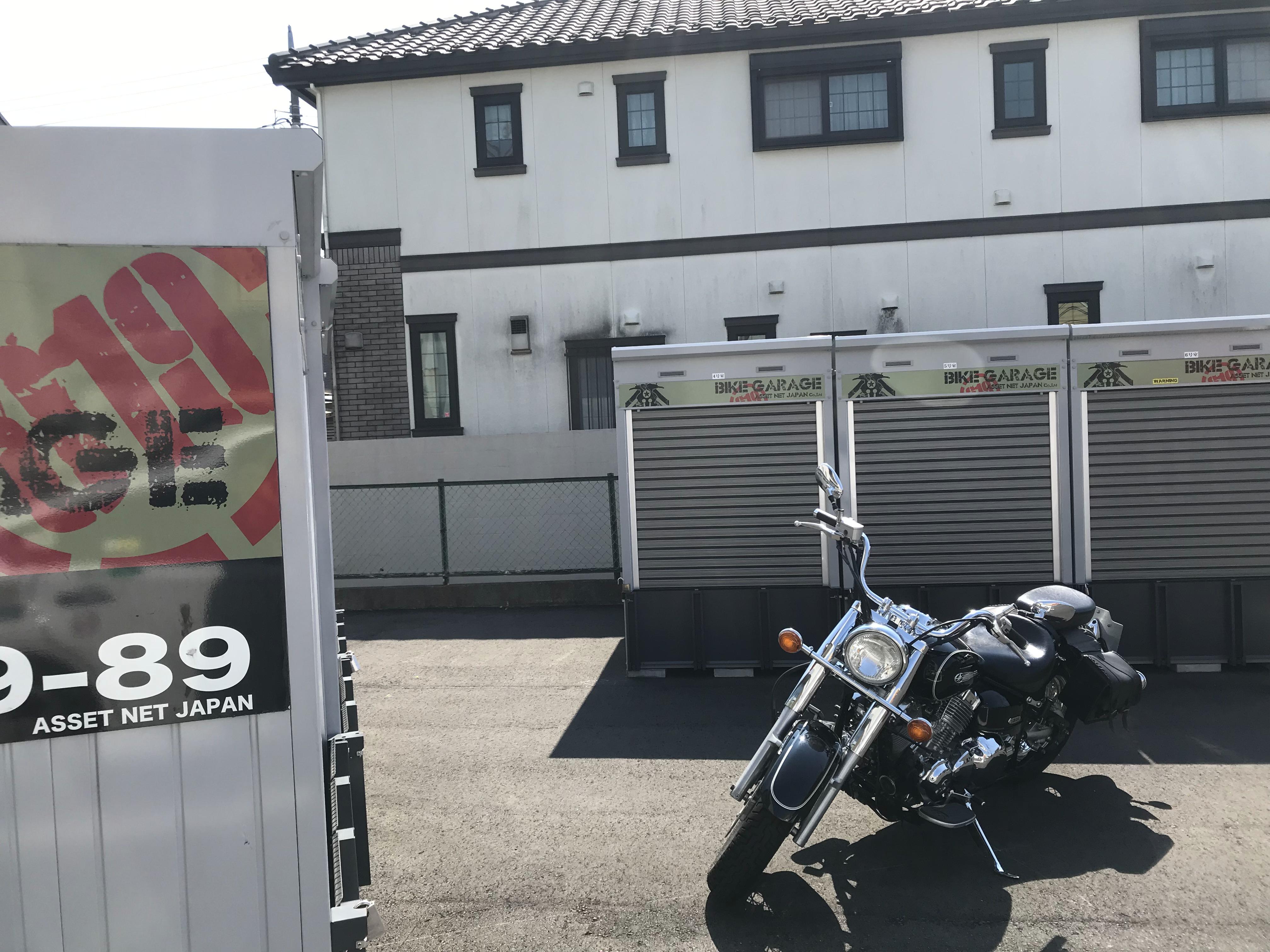 バイクストレージ練馬区西大泉P2の物件外観