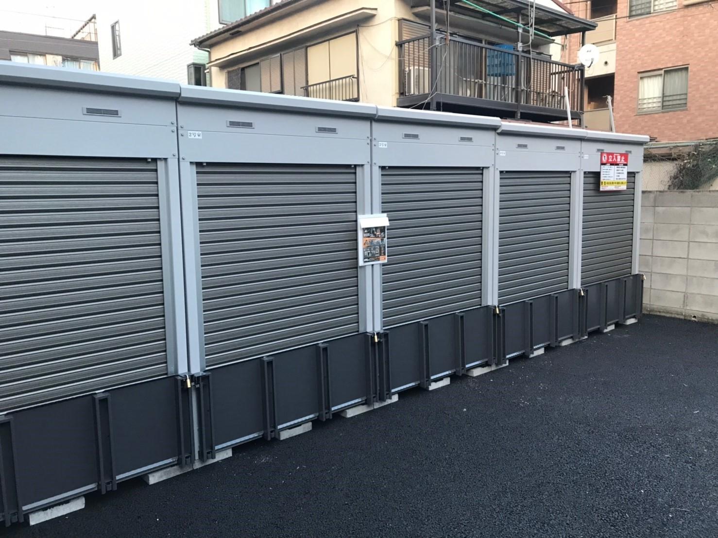 バイクストレージ椎名町駅北口の物件外観
