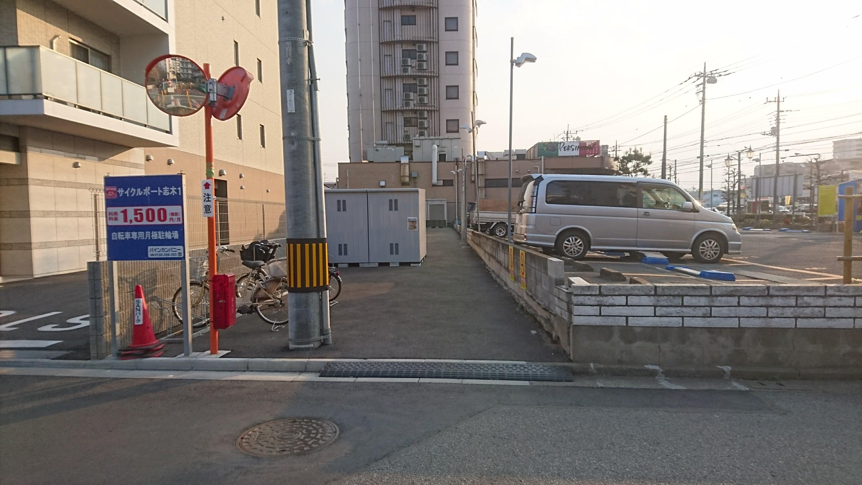 バイクストレージ志木駅南口の物件外観