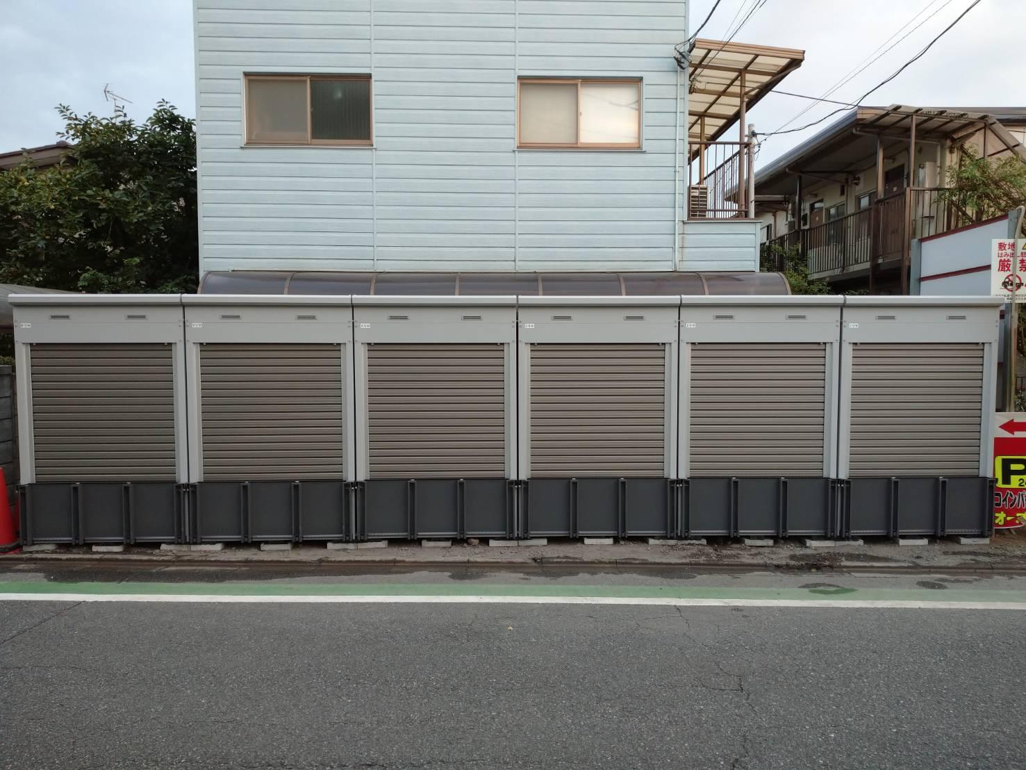 バイクストレージ南区太田窪P2の物件外観