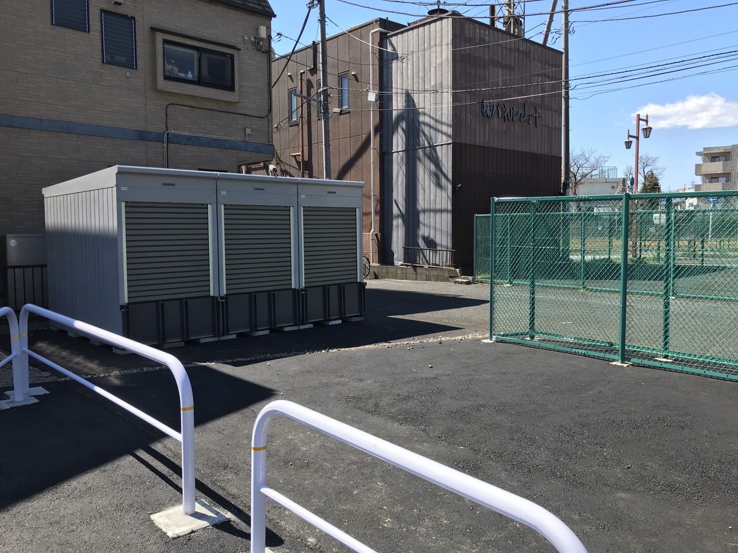 バイクストレージ練馬区大泉町P1の物件外観